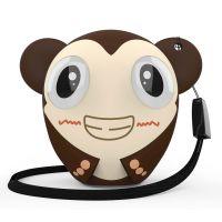 Беспроводная колонка Hiper ZOO Monkey, коричневый
