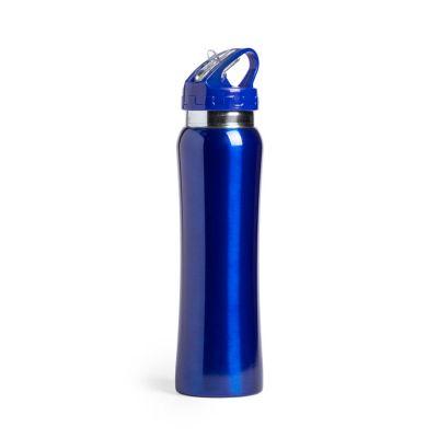 Бутылка для воды SMALY, нержавеющая сталь, 800 мл, синий