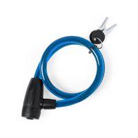 Велозамок с ключом TRIYO, синий