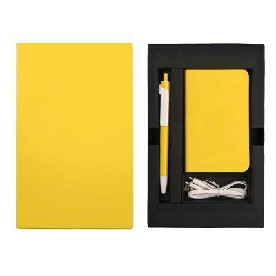Набор подарочный POWER BOX MINI: универсальное зарядное устройство(4000мАh) и ручка, разные цвета