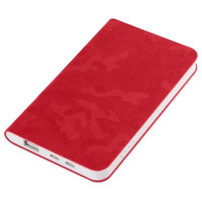 Универсальное зарядное устройство TABBY (4000mAh), красный