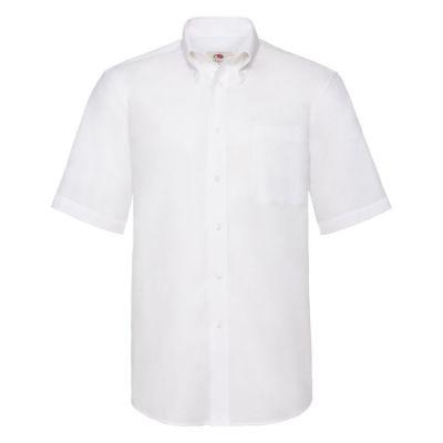 Рубашка мужская SHORT SLEEVE OXFORD SHIRT 130, белый