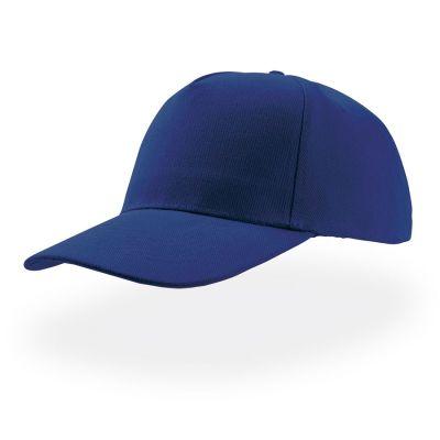 Бейсболка LIBERTY FIVE, 5 клиньев, застежка на липучке, синий