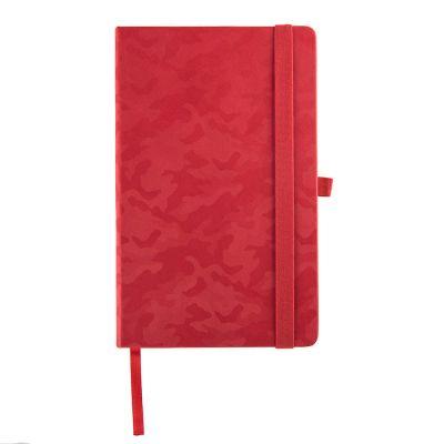 Бизнес-блокнот TABBY JUSTY, формат А5, в линейку, красный