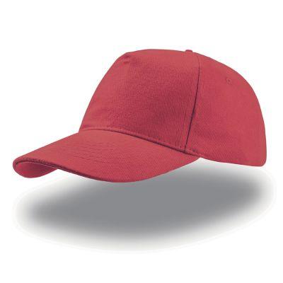 Бейсболка LIBERTY FIVE BUCKLE, 5 клиньев, металлическая застежка, красный