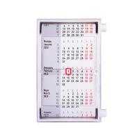 Календарь настольный для рекламных вставок, белый