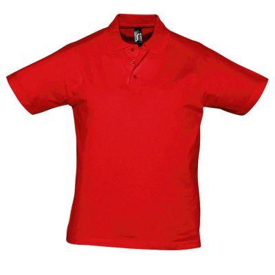Поло мужское PRESCOTT MEN 170, красный