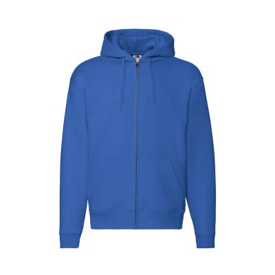 Толстовка PREMIUM HOODED SWEAT JACKET 260, синий