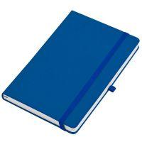 Бизнес-блокнот  'Silky', формат А5,  обложка твердая,  блок в клетку, синий