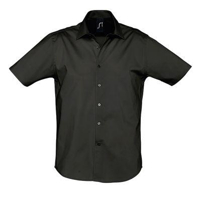 Рубашка мужская BROADWAY 140, черный