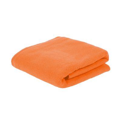 Плед PLAIN, оранжевый