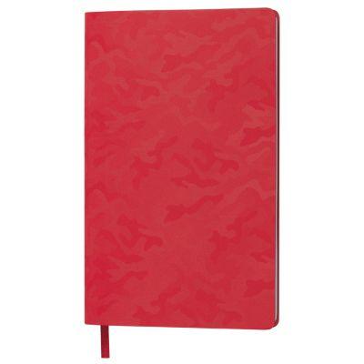 Бизнес-блокнот TABBY FUNKY, формат А5, в линейку, красный