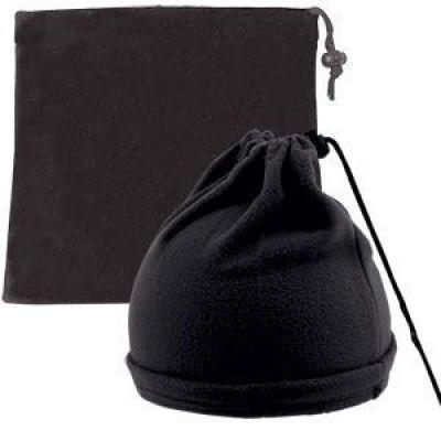 Шапка-шарф с утяжкой 'Articos', черный