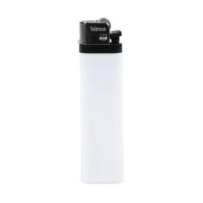 Зажигалка кремневая ISKRA, белый