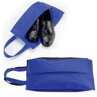 Футляр для обуви на молнии 'HAPPY TRAVEL', синий