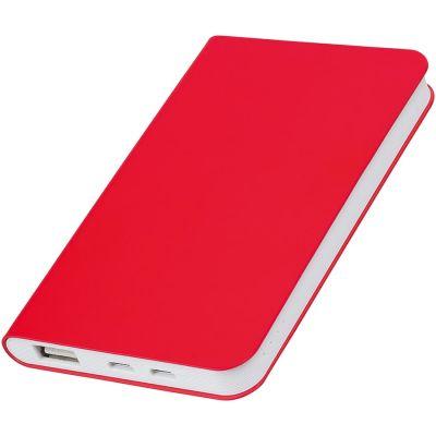 Универсальное зарядное устройство SILKY (4000mAh), красный