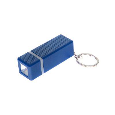 Брелок с фонариком, синий