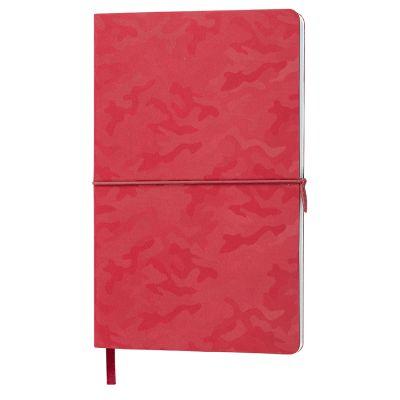 Бизнес-блокнот TABBY FRANKY, формат А5, в клетку, красный