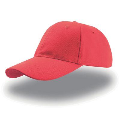 Бейсболка LIBERTY SIX BUCKLE, 6 клиньев, застежка c металлической пряжкой, красный