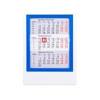 Календарь настольный на 2 года, синий, белый