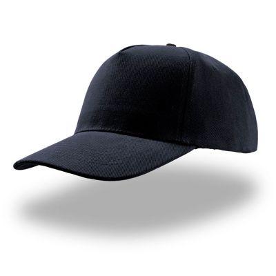 Бейсболка LIBERTY FIVE, 5 клиньев,застежка на липучке, темно-синий
