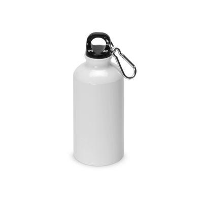 Бутылка для воды, металл, 400 мл, для сублимации, белый