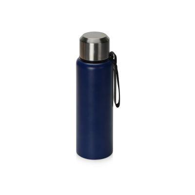 Вакуумный термос Story c покрытием powder, темно-синий