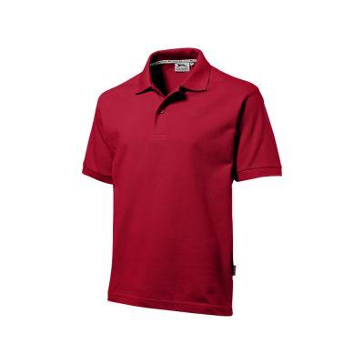 Рубашка поло Forehand мужская, темно-красный