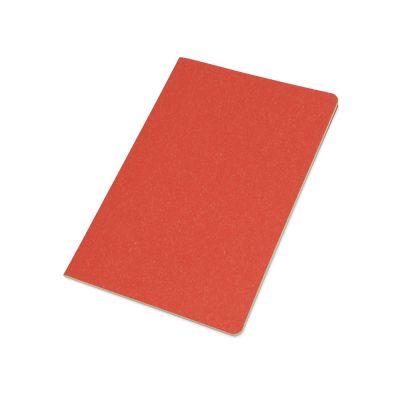 Блокнот А5 Snow из переработанного картона, красный