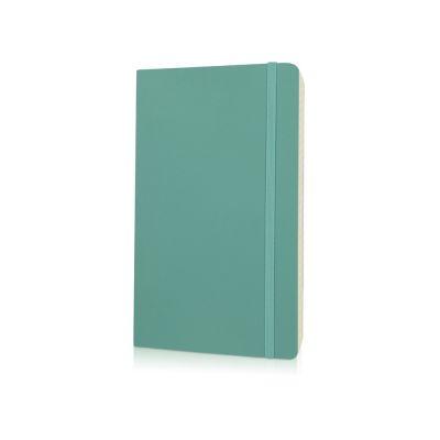 Записная книжка Moleskine Classic Soft (в линейку), Large (13х21см), морская волна