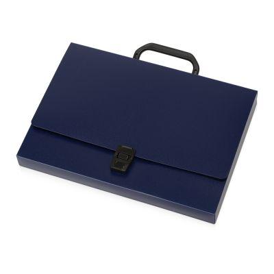 Папка-портфель А4, синий