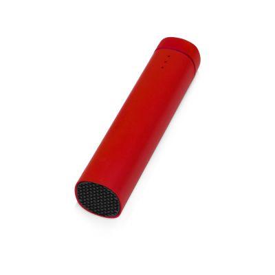 Портативное зарядное устройство Мьюзик, 5200 mAh, красный