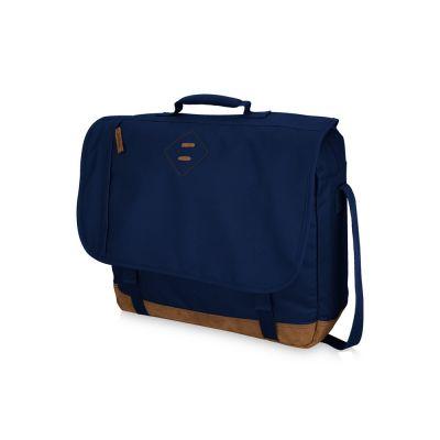 Сумка через плечо Chester для ноутбука 17, темно-синий