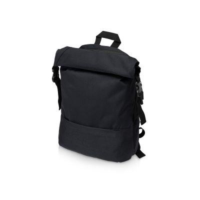 Рюкзак Shed водостойкий с двумя отделениями для ноутбука 15'', черный