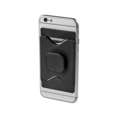 Держатель для мобильного телефона Purse с бумажником, черный
