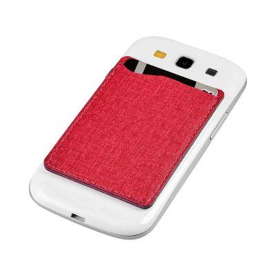 Кошелек для телефона RFID, красный