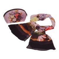 Набор Букет: косметичка и шарф