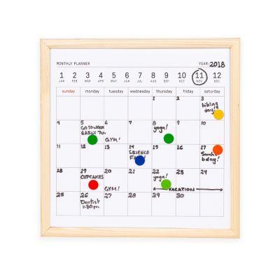 Календарь для заметок с маркером Whiteboard calendar