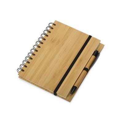 Блокнот Bamboo tree с ручкой