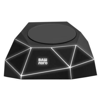Док-станция Geo Dock с быстрой беспроводной зарядкой, черный с белой подсветкой. XOOPAR