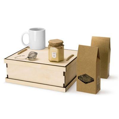 Подарочный набор Tea Duo Deluxe, белый