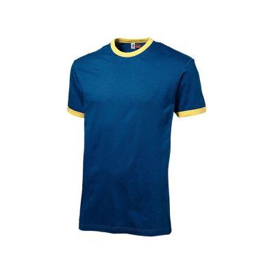 Футболка Adelaide мужская, синий/желтый