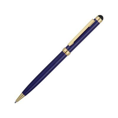 Ручка шариковая Голд Сойер со стилусом, синий