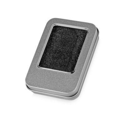 Коробка для флеш-карт Этан, серебристый