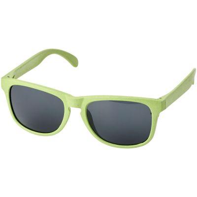 Солнцезащитные из пшеничной соломы очки Rongo, зеленый