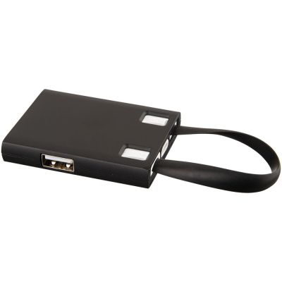 USB Hub и кабели 3-в-1, черный