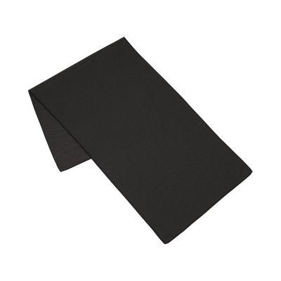 Полотенце для фитнеса Alpha, черный