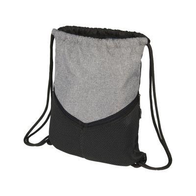 Спортивный рюкзак-мешок, серый/графит