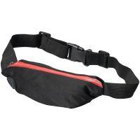 Эластичная спортивная поясная сумка Nicolas, красный