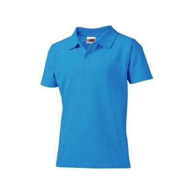 Рубашка поло First детская, голубой